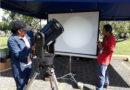 Estudiantes de la UNAN-Managua observaron el tránsito de Mercurio
