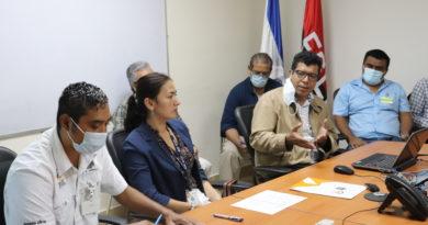 UNAN-Managua y Ministerio de Energía y Minas elaboran plan de trabajo conjunto