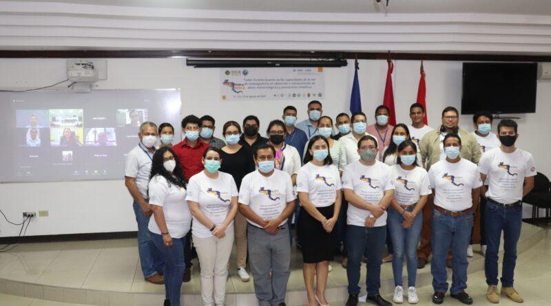 IGG-CIGEO organizó taller centroamericano sobre datos meteorológicos y pronósticos climáticos